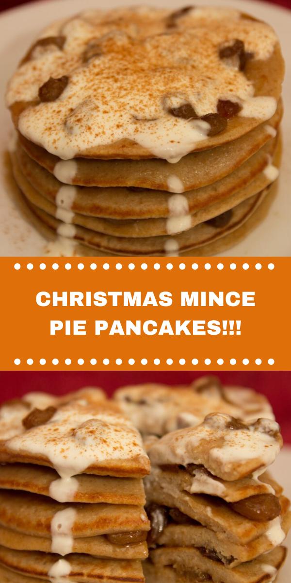 CHRISTMAS MINCE PIE PANCAKES!!!