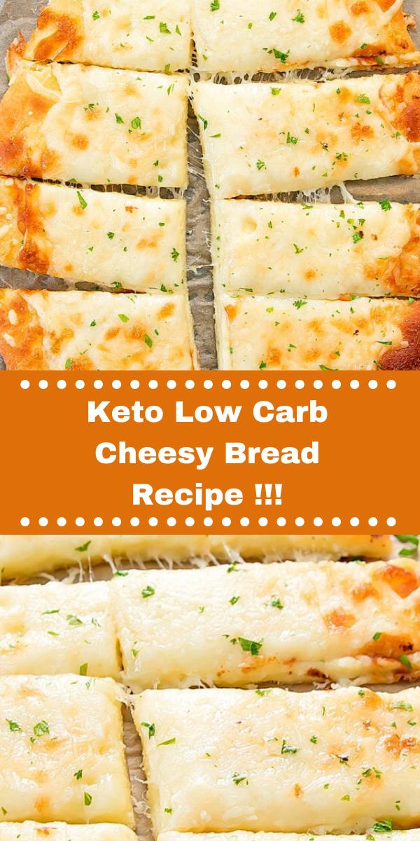 Keto Low Carb Cheesy Bread Recipe!!!