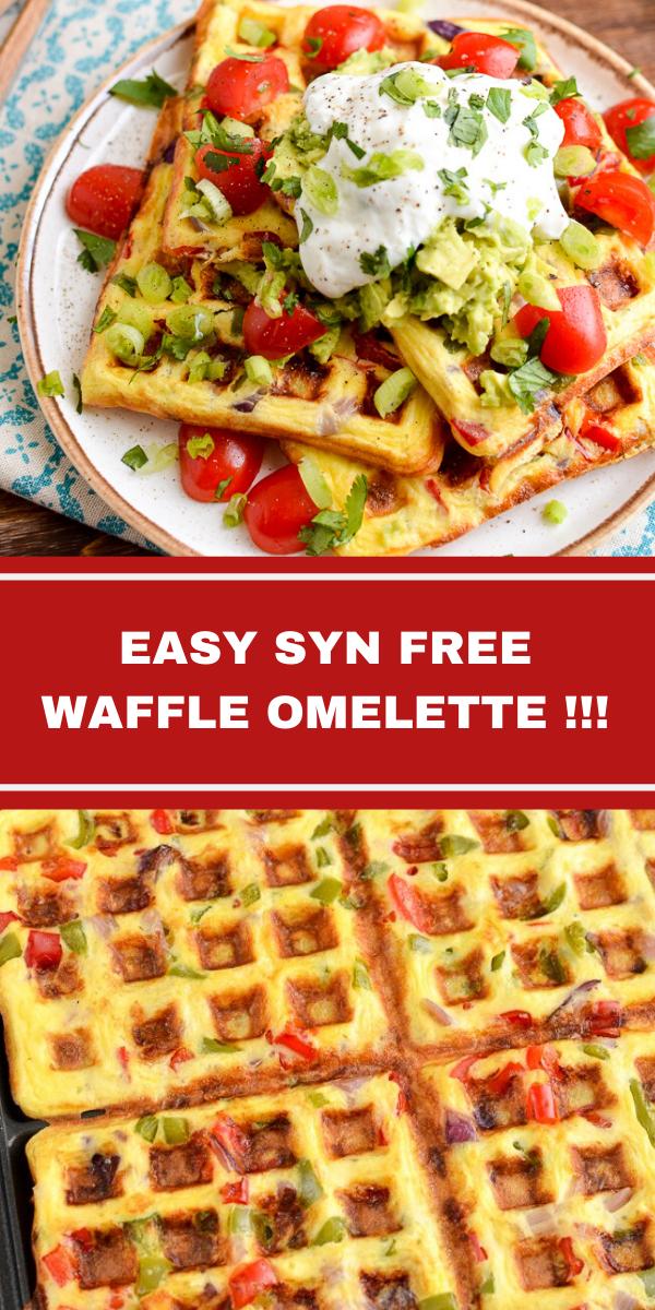 EASY SYN FREE WAFFLE OMELETTE!!!