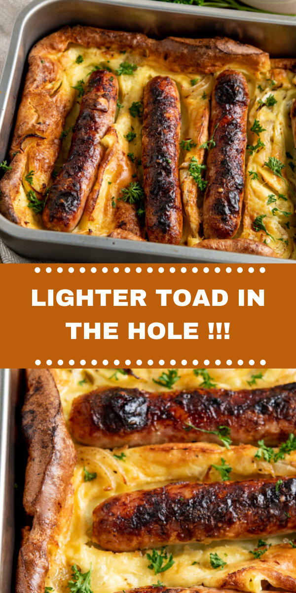 LIGHTER TOAD IN THE HOLE!!!