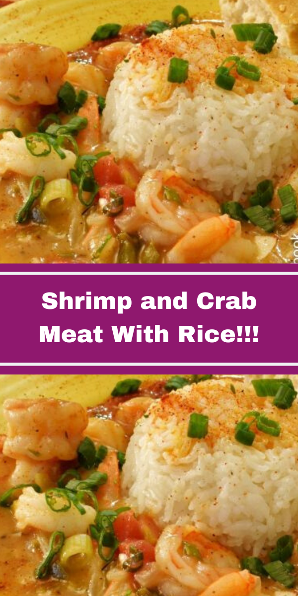 Shrimp and Crab Meat With Rice!!!