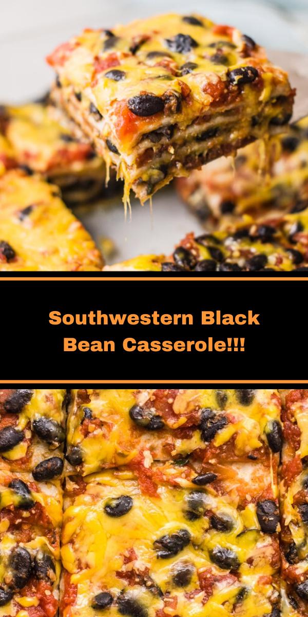 Southwestern Black Bean Casserole!!!
