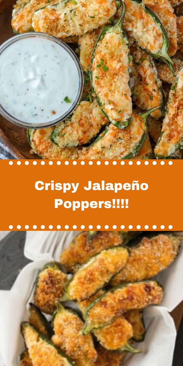 Crispy Jalapeño Poppers!!!!