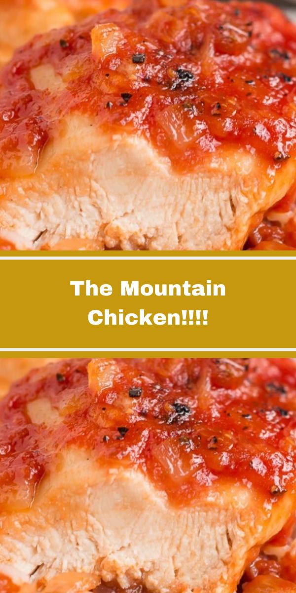 The Mountain Chicken!!!!