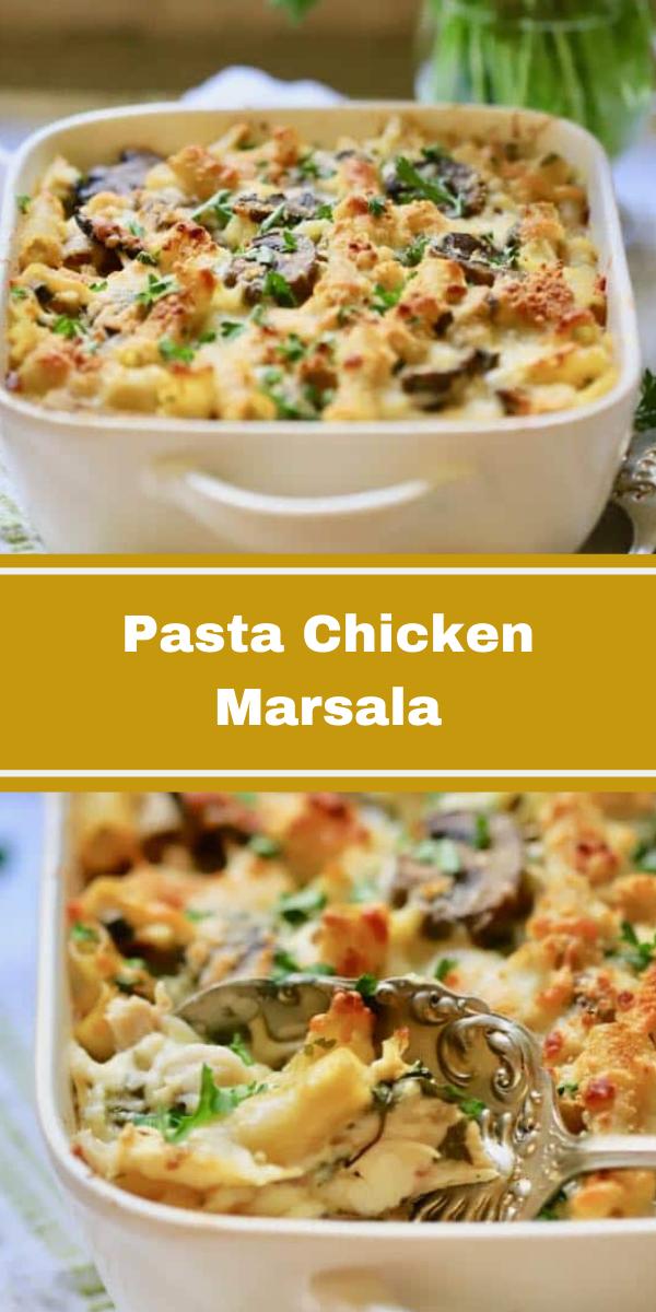 Pasta Chicken Marsala