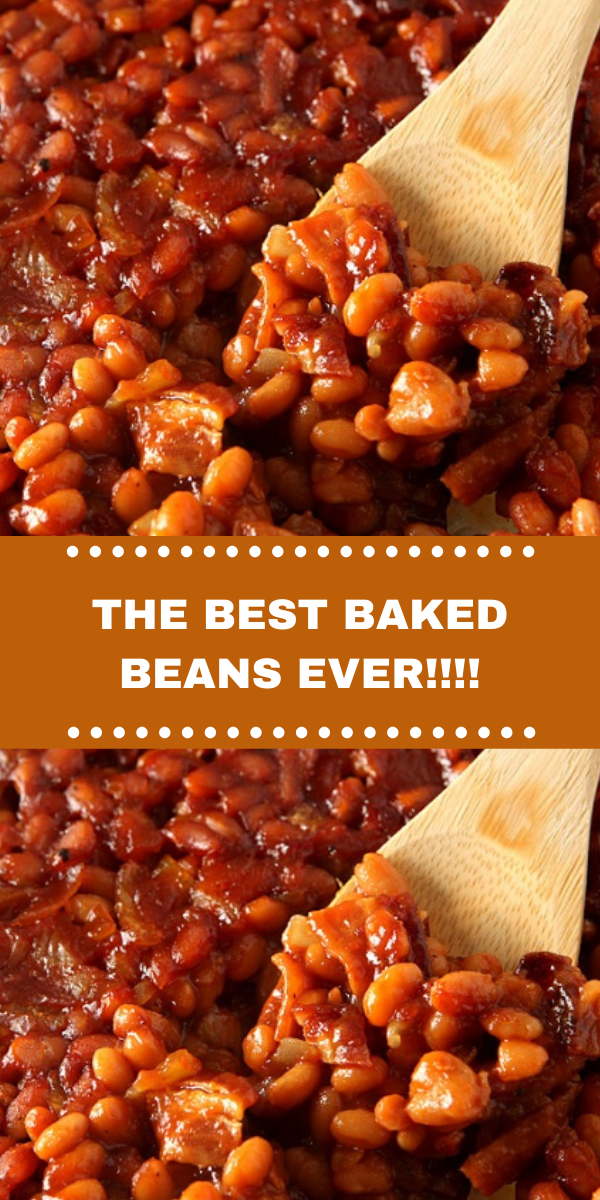 THE BEST BAKED BEANS EVER!!!!