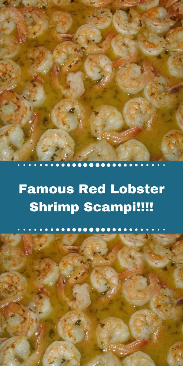 Famous Red Lobster Shrimp Scampi!!!!