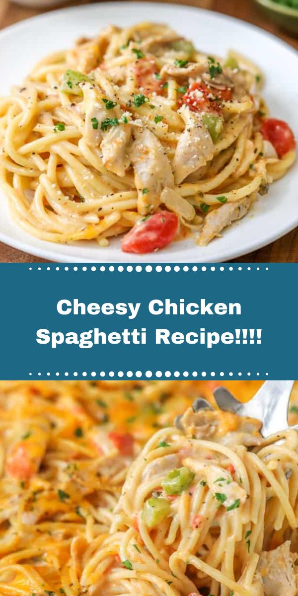 Cheesy Chicken Spaghetti Recipe!!!!