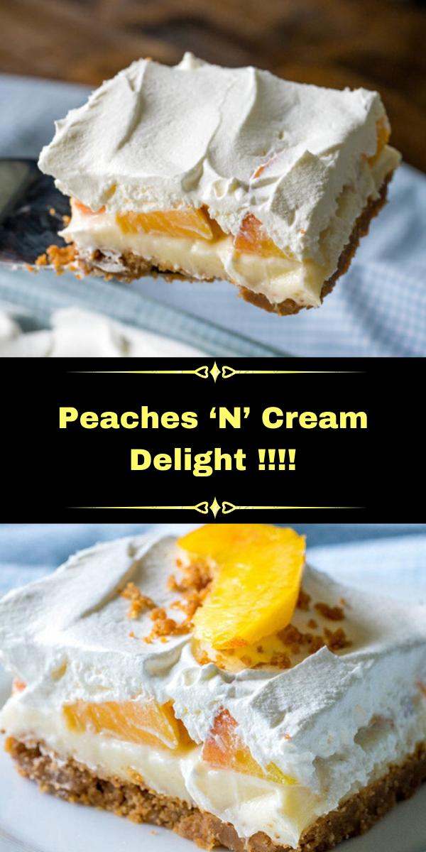 Peaches 'N' Cream Delight !!!!