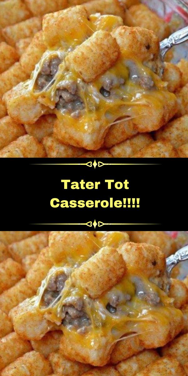 Tater Tot Casserole!!!!