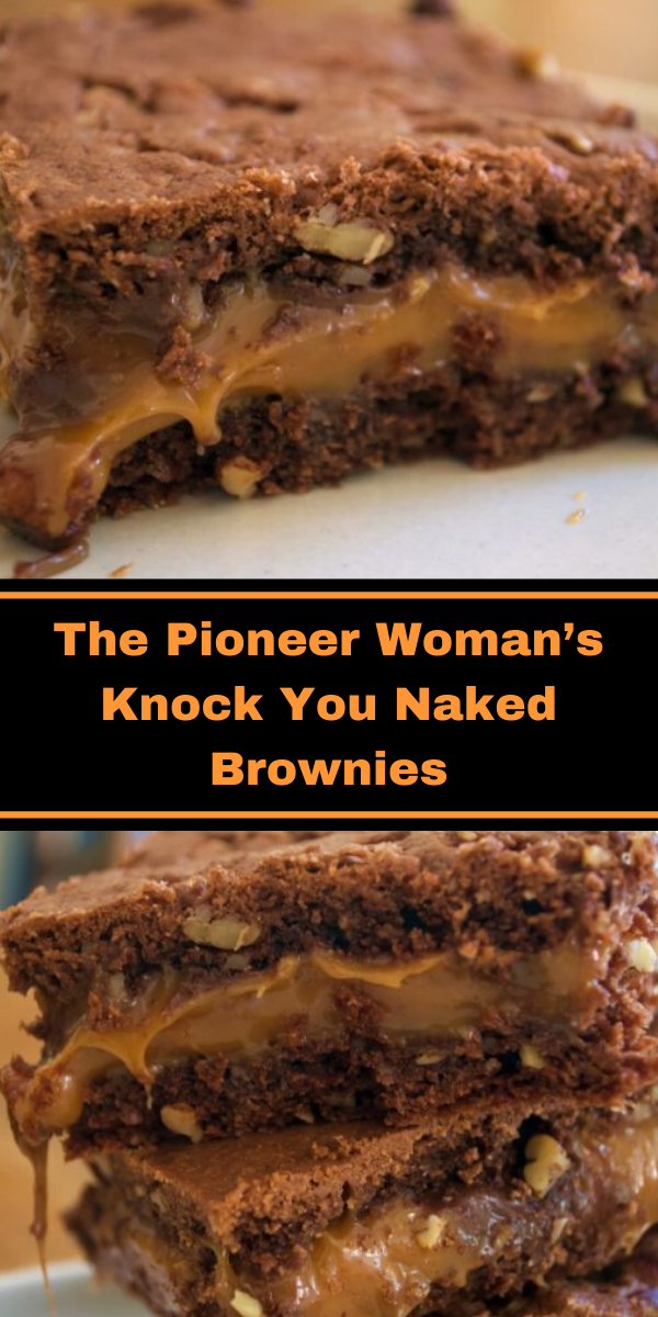 The Pioneer Woman's Knock You Naked Brownies