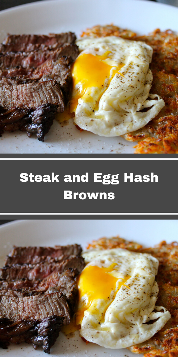 Steak and Egg Hash Brown
